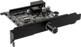 Lamptron CFP30 Sync, schwarz, PCI-Slotblende, Licht- und Lüftersteuerung 4-Kanal (LAMP-CFP30BS)