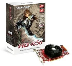 PowerColor Radeon HD 4850, 512MB DDR3, VGA, DVI, HDMI (AX4850 512MD3-HV2/R77CC-PE3D)