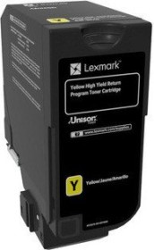 Lexmark Toner 840HY gelb hohe Kapazität (84C0H40)
