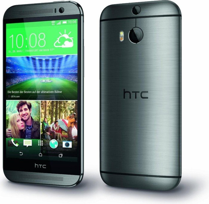 produktbilder htc one m8 32gb grau. Black Bedroom Furniture Sets. Home Design Ideas