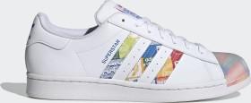 adidas Superstar cloud white/blue/orange (GX2717)