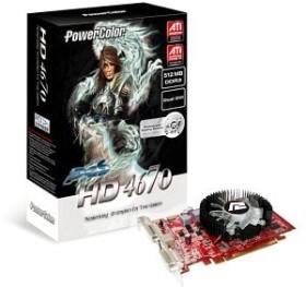 PowerColor Radeon HD 4670 PCS, 512MB DDR3, 2x DVI, S-Video (R73KA-TE3)