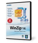 Corel: WinZip 14.0 Standard (English) (PC) (WZ14STDIEDVD)