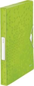 Leitz WOW Ablagebox A4, grün (46290054)