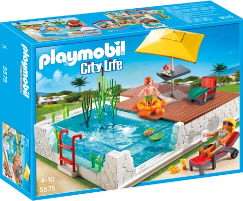 playmobil - City Life - Einbau-Swimmingpool (5575) -- via Amazon Partnerprogramm