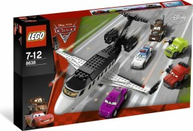 LEGO Cars - Jagd nach dem Agenten-Jet (8638)