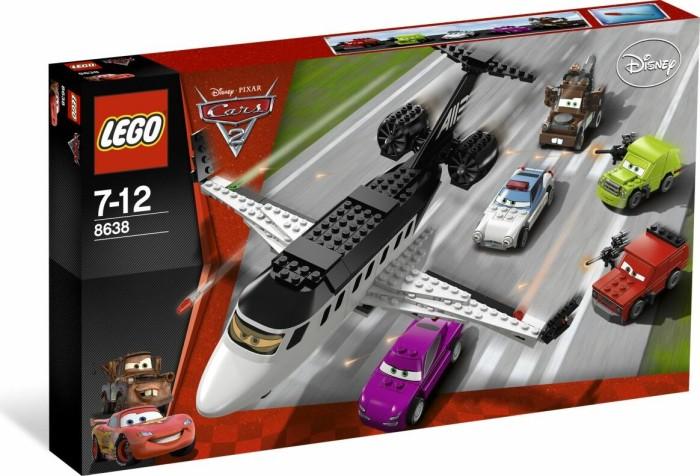 LEGO Cars - Jagd nach dem Agenten-Jet (8638) -- via Amazon Partnerprogramm