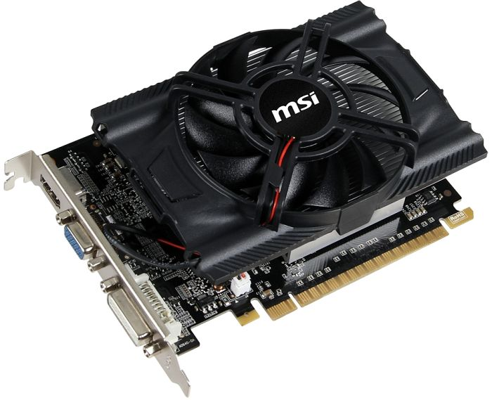 MSI N640-2GD3, GeForce GT 640, 2GB DDR3, VGA, DVI, HDMI (V809-404R)