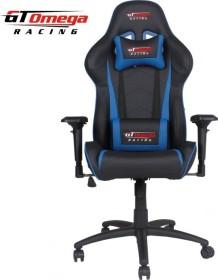 GT Omega Racing Pro Next Gamingstuhl, schwarz/blau (OC-F0014)