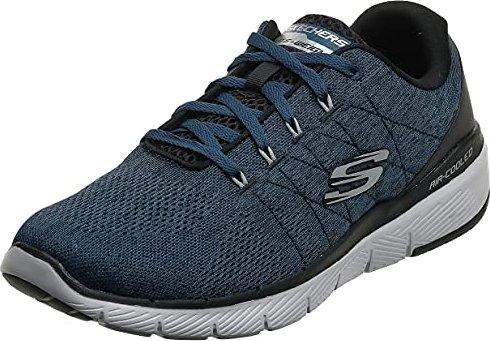 Skechers Flex Advantage 3.0 Stally niebieskiczarny (męskie