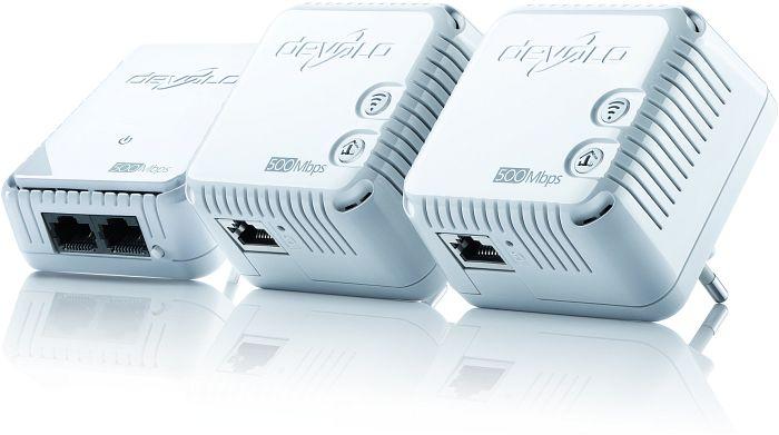 devolo dLAN 500 WiFi Network Kit, 3er-Pack (9090/9096)