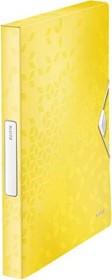 Leitz WOW Ablagebox A4, gelb (46290016)