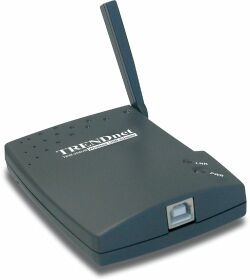 TRENDnet Wireless USB Adapter, 11Mbps (TEW-204UB)