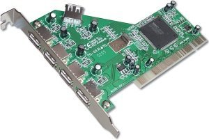 Digitus DC USB2-5, 5x USB 2.0, PCI