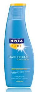 Nivea Sun Light Feeling Sun lotion LSF30 200ml