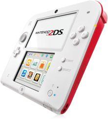 Nintendo 2DS weiß/rot (verschiedene Bundles)
