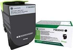 Lexmark Return Toner 71B20K0 schwarz