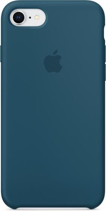 apple silikon case f r iphone 8 kosmosblau. Black Bedroom Furniture Sets. Home Design Ideas