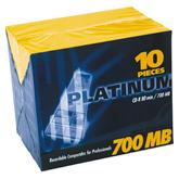 BestMedia Platinum CD-R 80min/700MB 52x, 10-pack (100144/100003)