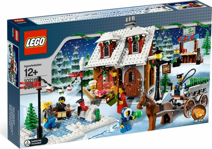 LEGO - Creator Expert - Winter Village Bakery (10216) -- via Amazon Partnerprogramm