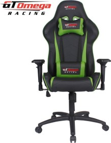 GT Omega Racing Pro Next Gamingstuhl, schwarz/grün (OC-F0011)