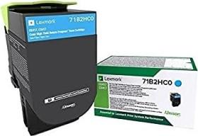 Lexmark Return Toner 71B2HC0 cyan hohe Kapazität