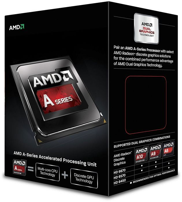 AMD  A6-6400K, 2x 3.90GHz, boxed (AD640KOKHLBOX)