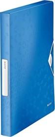 Leitz WOW Ablagebox A4, blau (46290036)