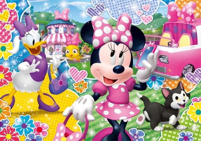Clementoni Glitter Minnie Happy Helpers (20146)