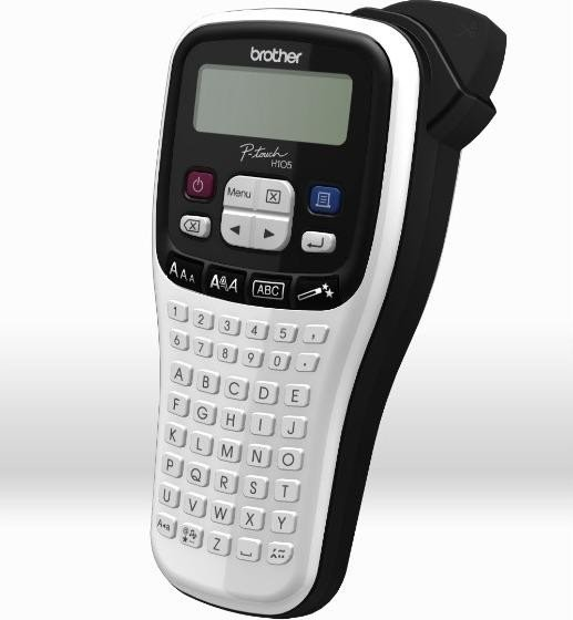 Brother P-touch H105 white/black (PTH105WBG1)