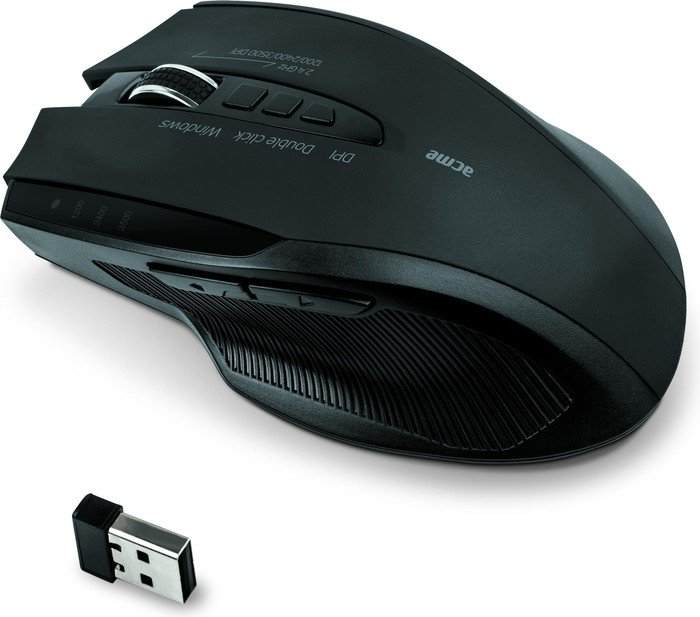 ACME MW15 wireless Mouse, USB (132103)