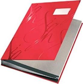 Leitz Design Unterschriftsmappe A4, rot (57450025)