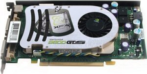 XFX GeForce 8600 GTS 730M XXX, 256MB DDR3, 2x DVI, TV-out, PCIe (PV-T84G-UDD3)