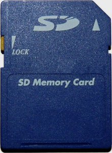 Diverse SD Card 128MB -- © bepixelung.org