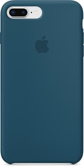 apple silikon case f r iphone 8 plus kosmosblau mr6d2zm a. Black Bedroom Furniture Sets. Home Design Ideas