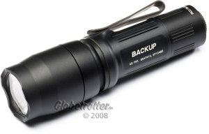 Surefire E1B Backup torch -- ©globetrotter.de 2008