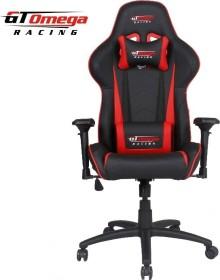 GT Omega Racing Pro Next Gamingstuhl, schwarz/rot (OC-F0013)