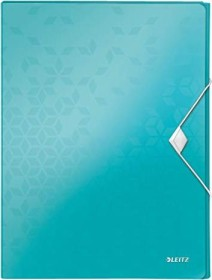 Leitz WOW Ablagebox A4, eisblau (46290051)
