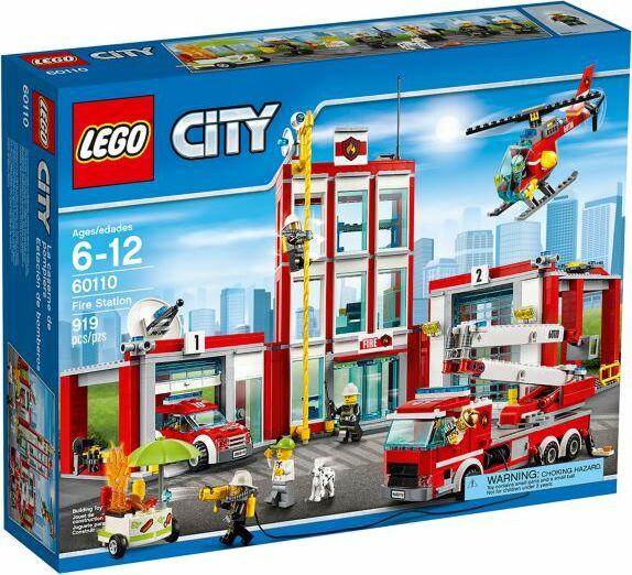 Lego City Straż Pożarna Remiza Strażacka 60110 Od Pln 0 2019