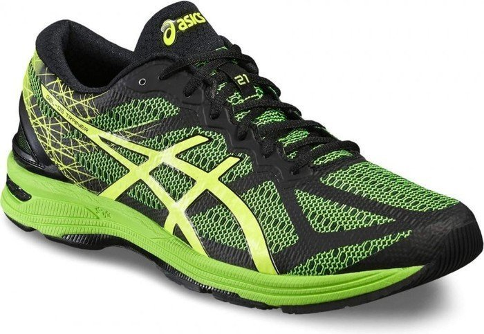 separation shoes 4d7b8 21698 Asics gel-DS Trainer 21 black/safety yellow/green gecko (men) (T624N-9007)  from £ 105.77