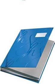 Leitz Design Unterschriftsmappe A4, blau (57450035)