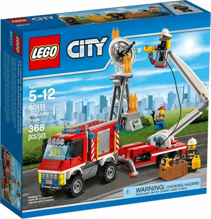 Lego City Straż Pożarna Strażacki Wóz Techniczny 60111 Od Pln 0