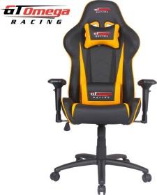 GT Omega Racing Pro Next Gamingstuhl, schwarz/gelb (OC-F0017)