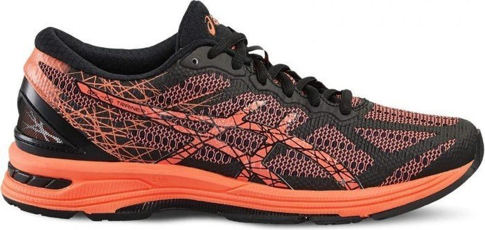 Asics Gel-DS Trainer 21 black/flash coral/silver (Damen) (T674N-9006)