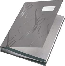 Leitz Design Unterschriftsmappe A4, grau (57450085)