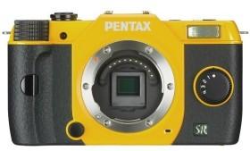 Pentax Q7 gelb Gehäuse (11542)