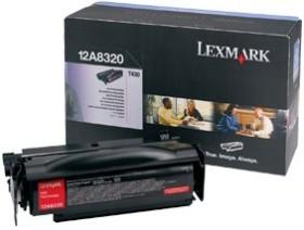 Lexmark Toner 12A8320 black