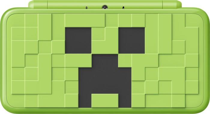 Nintendo New 2DS XL Minecraft Creeper Edition green/black