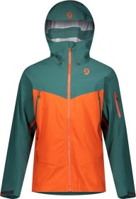 Scott Explorair DRX 3L Jacke jasper green/orange pumpkin (Herren) (277685-6640)