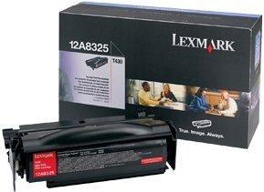 Lexmark Toner 12A8325 schwarz hohe Kapazität